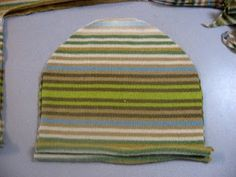 Hat from Sweater | Make It and Love It  ~ For baby and siblings and Moms too.