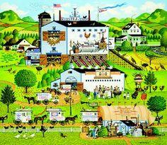 "Charles Wysocki Special Edition Prints | Charles Wysocki Limited Edition Print: ""Sunnyside Up"" - Charles ..."
