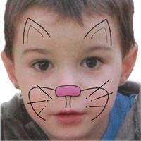 Maquillage enfant Chat  Tuto maquillage enfant - Loisirs créatifs