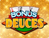 Today, we are going to learn more about #Bonus #Deuces. It represents famous poker variant but with several extraordinary features: the availability of the cards that have special opportunities. The goal of this video poker online is to choose the most profitable combination by means of five cards.