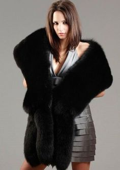 Shop FurSource for the best selection of Fur Wraps & Shawls. Buy the Fox Fur Three Tier Stole with Tails by FRR with fast same day shipping. Fur Fashion, Winter Fashion, Womens Fashion, Capes, Fabulous Fox, Fur Wrap, Fur Accessories, Fur Stole, Fox Fur Coat