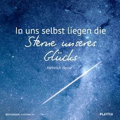 In uns selbst...