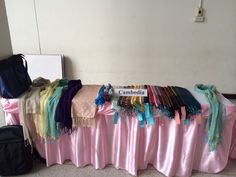 Cambodian traditional silk products
