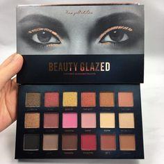 Beauty Glazed 18 color Eyeshadow Palette| Huda Beauty Dupe
