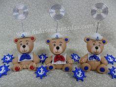 lembrancinha ursinho marinheiro em biscuit - Pesquisa Google