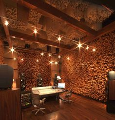 Love the diffusers and lights. Where are the absorption panels?