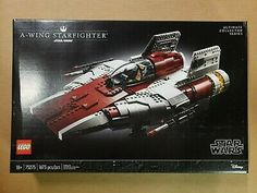 Lego 75275 Star Wars A-wing Starfighter Building Kit (1673 pcs) SEE DESCRIPTION Lego War, Geek Gear, Lego Brick, Lego Star Wars, Wings, Kit, Stars, Building, Ebay