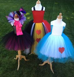 Alice in Wonderland Mad Hatter and Queen of Hearts by Just a Little Sass on Etsy.com