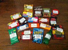 Candy basket idea
