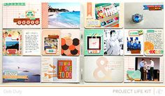 Project Life Week 3 by debduty at Studio Calico