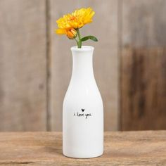 I Love You Vase - Pulp & Circumstance