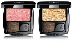 Chanel Summer 2017 L'Harmonies des Opposes Collection - new Les Tissages de Chanel Blush Duo Effect Tweed in 6 shades for summer 2017