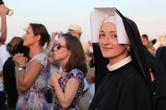 Sisters of Our Lady of Mercy World Youth Day Krakow 16 Jezu Ufam Tobie