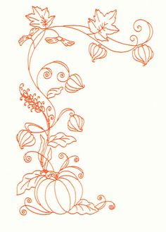 pumpkin border. Lots of SVG printable designs & SVG cuts on this site