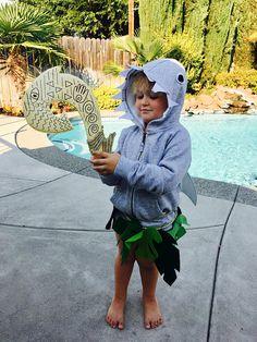 Maui Shark Head Costume Maui Costume Moana Te fiti Moana