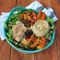 Chicken Peach Salad