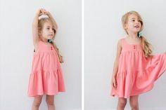 Плаття для дівчинки своїми руками. МК і викрійка)) Шиття Для Дітей 39acea3188bf2