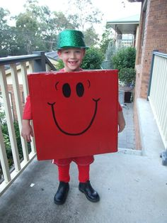 mr strong for a book character parade
