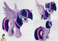 #1329874 - artist:epicrainbowcrafts, irl, lidded eyes, photo, plushie, princess twilight, safe, solo, spread wings, twilight sparkle - Derpibooru - My Little Pony: Friendship is Magic Imageboard