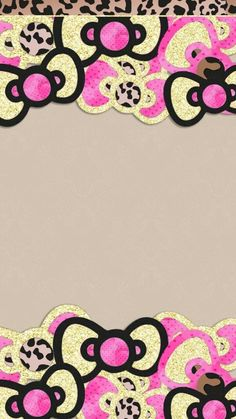 Bow Wallpaper, Animal Print Wallpaper, Cute Wallpaper For Phone, Hello Kitty Wallpaper, Cellphone Wallpaper, Iphone Wallpaper, Galaxy Wallpaper, Hello Kitty Shoes, Hello Kitty Art
