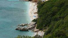 Plaża FKK na wyspie Krk w Starej Basce