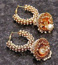 6 Sparkling Cool Tips: Pearl Jewelry Bling silver jewelry awesome.Jewelry Cleaner To Get. Jewelry Design Earrings, Cute Jewelry, Pearl Jewelry, Silver Jewelry, Silver Ring, Jewelry Bracelets, Fancy Earrings, Dainty Jewelry, Jewelry Holder