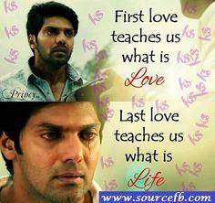 #Amazing #Quotes !! #Awesome movie #RajaRani #arya #nayanthara #nazriya #jai