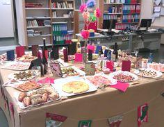 Esta fué nuestra mesa de 2014 en el Lunch de Biblioteca
