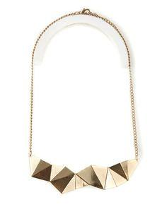 Collier plastron origami - Bizzbee - 7,90€