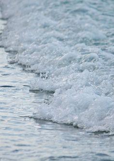 Macro Ocean Photography, Beach Cottage Decor, Ocean Waves, Dreamy Beach Photography