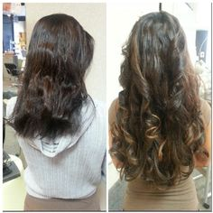 Great lengths extensions. Before and after