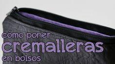 Aprende a poner cremalleras a tus bolsos y monederos cuando llevan forro, y anímate a diseñar tus propios complementos. Sígueme en: Facebook: http://www.face...