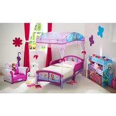 """Disney Frozen Canopy Toddler Bed - Delta - Toys """"R"""" Us"""