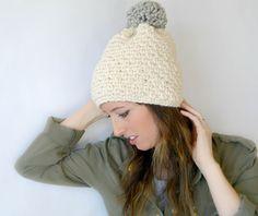 Easy Chunky Crochet Hat Pattern
