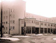 Postamt am Harras I Architekt: Robert Vorhölzer, Hans Schnetzer I Baujahr: 1931-1932 I Adresse: Am Harras 2, München