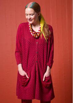 """Skandinavische Mode von Gudrun Sjödén - Die Trikotbluse """"Pistill"""" aus Micromodal/Elasthan ist ein herrliches, durchgeknöpftes Modell mit zwei aufgesetzten Taschen. Kaufe deine neue Bluse aus Micromodal/Elasthan: http://www.gudrunsjoeden.de/mode/produkte/blusen-tuniken"""