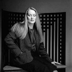 Meryl Streep - a goddess, nothing less.