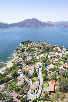 Valle de Bravo, Mexico, location of the Vega family weekend home. What does Luz love to do when they leave?
