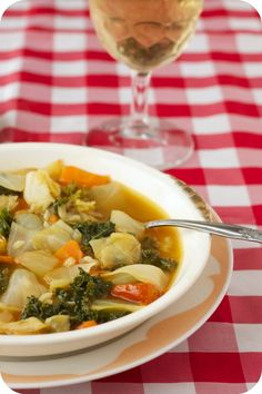 Share Tweet + 1 Mail Cabbage and Kale Soup started out as a way to use up the odds and ends in the fridge. ...