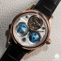 """Now on - Montblanc Villeret Tourbillon Cylindrique Geosphères Vasco da Gama, live from SIHH "" Amazing Watches, Beautiful Watches, Cool Watches, Fleurier, Tourbillon, Timex Watches, Dream Watches, Expensive Watches, Luxury Watches For Men"