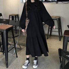 Street Hijab Fashion, Korean Street Fashion, Muslim Fashion, Modest Fashion, Fashion Outfits, Korean Casual Outfits, Modest Outfits, Dress Outfits, Dresses