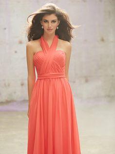 Multi-Wear-Floor-Length-Coral-Bridesmaid