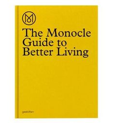 Full of writing, reports, and recommendations, The Monocle Guide to Better living is original, informative, entertaining, and comprehensive. This is not a book about glitz but rather an upbeat survey of products and ideas built to treasure and last. Monocle is one of the most successful magazines to be developed in the past decade. Armed with an unmistakable sense of aesthetics and journalistic te...