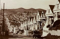 Noe Valley, 25th St. and Dolores St., 1947