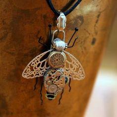 Steampunk Crafts | Steampunk Clockwork Bee - CraftStylish