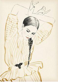 ✕ Lovely illustration by Sandra Suy / #art