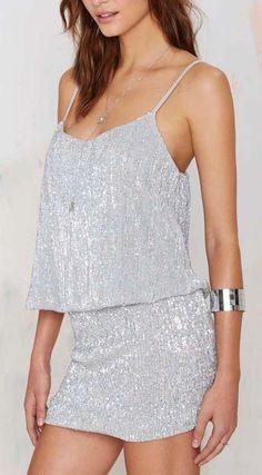Glamorous La Flavour Sequin Skirt