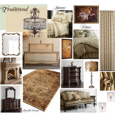 """""""Traditional Bedroom"""" by livefordesign on Polyvore"""