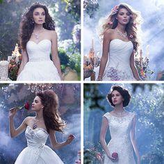 Disney lança coleção de vestidos de noiva inspirados em suas princesas; confira as novidades | Pop! Pop! Pop!