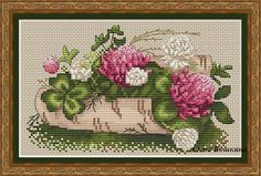 Cross Stitch Pattern PDF canvas embroidery by CrossStitchPaternss